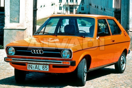 Audi 50 (TYP 86) 09.1974-1980