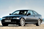 BMW 3 (E46), COUPE/CABRIO Middle Silencer