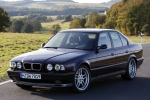 BMW 5 (E34), SDN+ESTATE Bolt, exhaust system