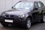BMW X3 (E83) Wires fixing parts