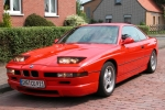 BMW 8 (E31) Glass washing