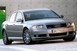 Audi A8 (D3) Warning Contact, brake pad wear