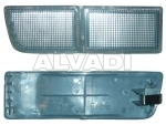 Front fog lamp blende