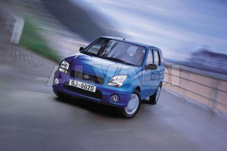 Subaru JUSTY (G3X) 09.2003-2007
