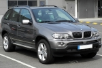 BMW X5 (E53) Tint films for car
