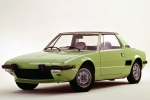Fiat X 1/9 (128 AS) Survelaager