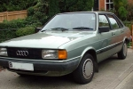 Audi 80 (B2) Mounting, automatic transmission