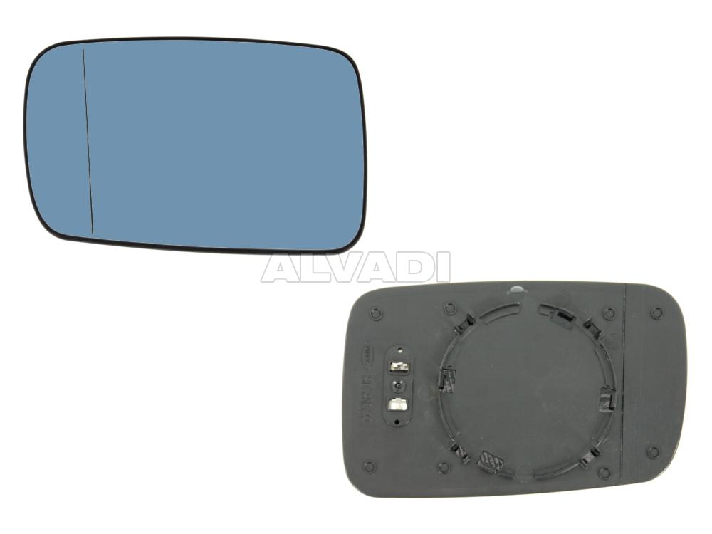 VAN Wezel 0647837 Mirror Glass for Exterior Wing Mirror