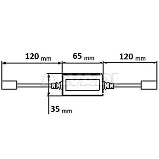 12V H1 / H3 viinud esituled dekooder