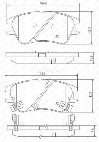 Fuel Parts LB1439 4 Wire Planar Lambda Sensor