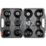 Cap type oil filter wrench set 13pcs