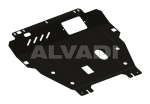 Under engine and gearbox cover (steel)